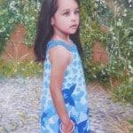"""Title """"Monalyssa"""" oil on canvas by Todd Krasovetz 2013"""